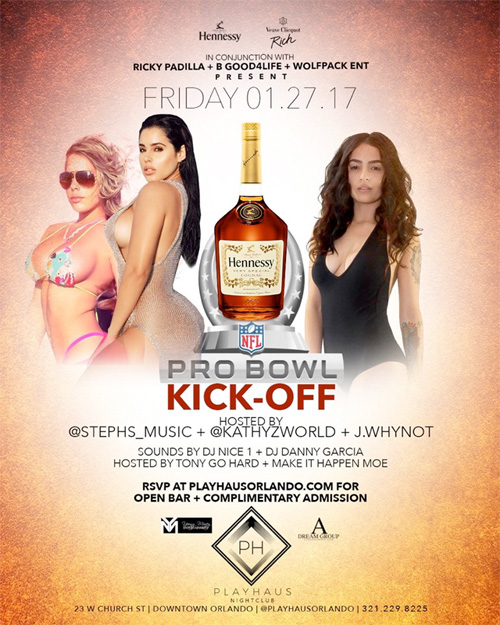 Stephanie Acevedo To Host A NFL Pro Bowl Party At Playhaus Nightclub In Orlando