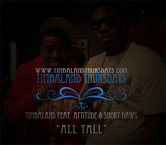 Timbaland All Yall Feat Short Dawg & Attitude