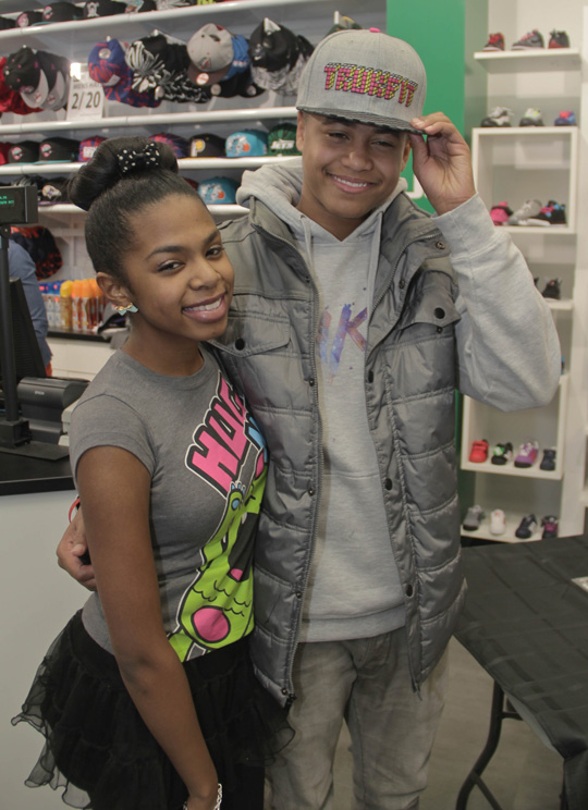 Torion Greets Fans During In-Store Appearance At Jimmy Jazz In Baltimore