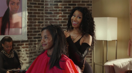 Trailer For Barbershop The Next Cut Starring Nicki Minaj