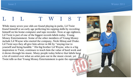 Lil Twist Interview With Young Celebrity News