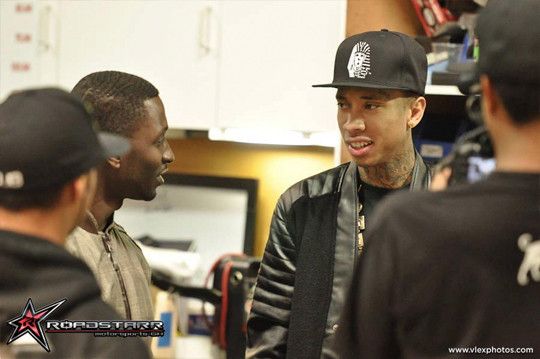 Behind The Scenes Of DUB Magazines Photo Shoot With Tyga