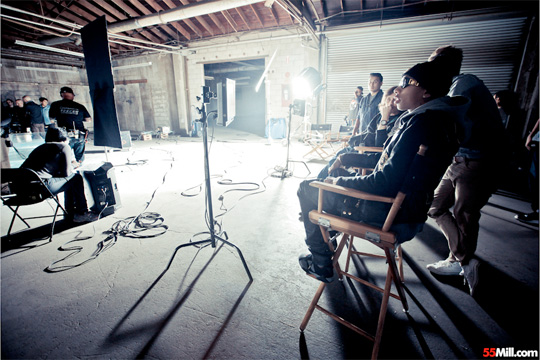 On Set Of Tyga & Big Sean Im Gone Video Shoot
