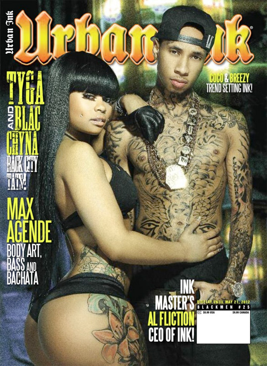 Tyga & Blac Chyna Cover Urban Ink Magazine