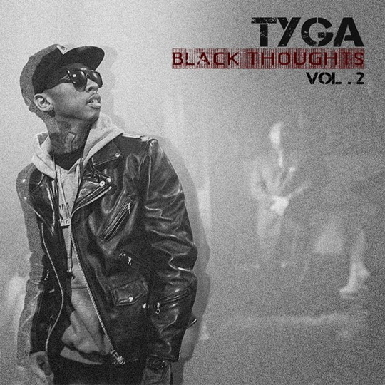 Tyga Black Thoughts 2 Official Mixtape Front Cover