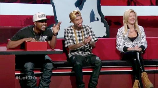 Tyga Appears On MTV Ridiculousness Show With Chanel West Coast