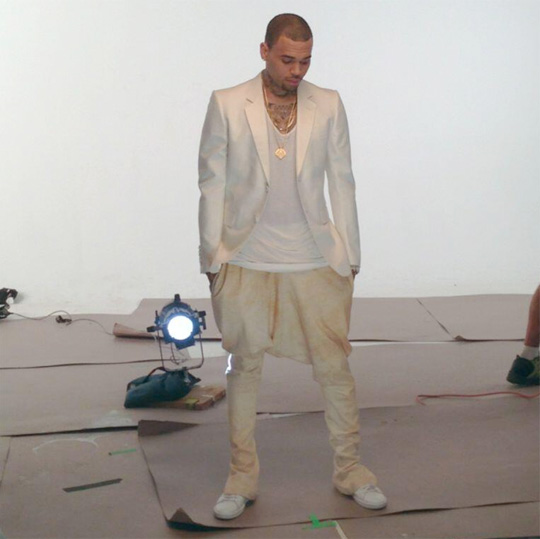 On Set Of Tyga & Chris Brown For The Road Video Shoot