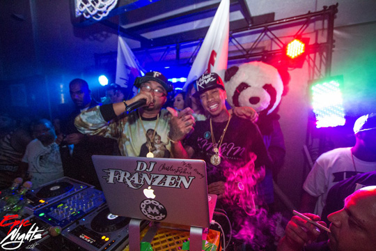 Tyga Parties With DJ Franzen At The Palms Casino Resort In Las Vegas