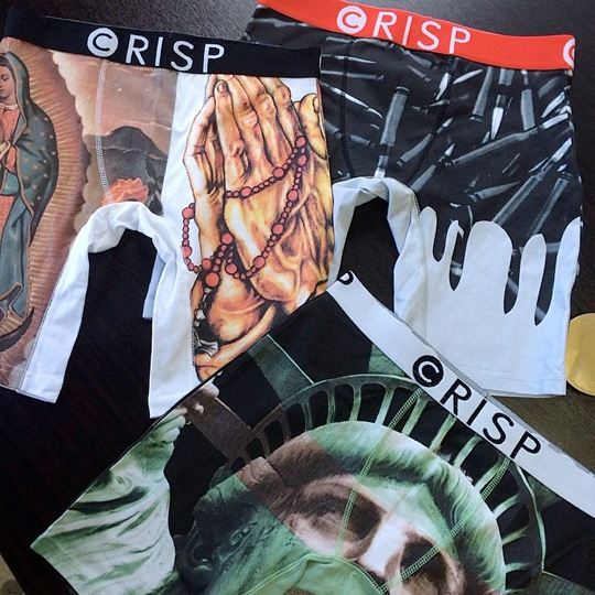 Tyga Partners Up With Crisp To Launch His Own Line Of Boxers