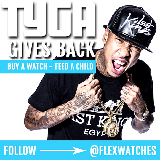 Tyga Announces Partnership With Flex Watches, Releases Last Kings Watches
