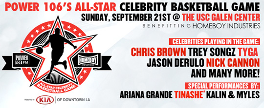 Tyga To Play In Power 106 All-Star Celebrity Basketball Game In Los Angeles