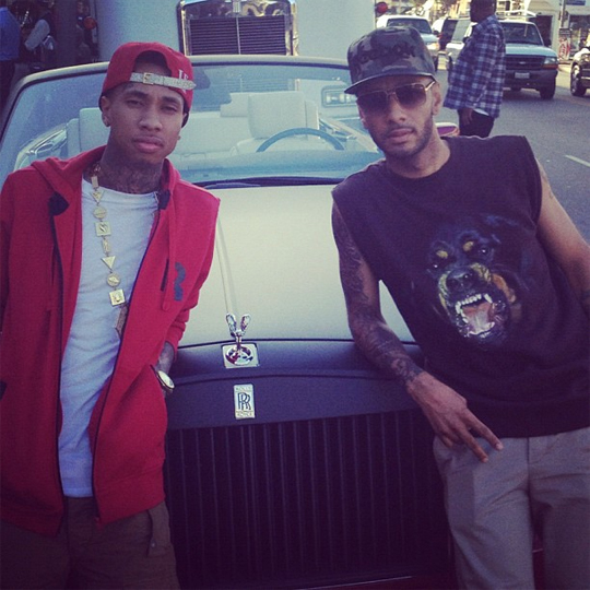 Tyga Signs 7 Figure Deal With Reebok & Shoots Commercial