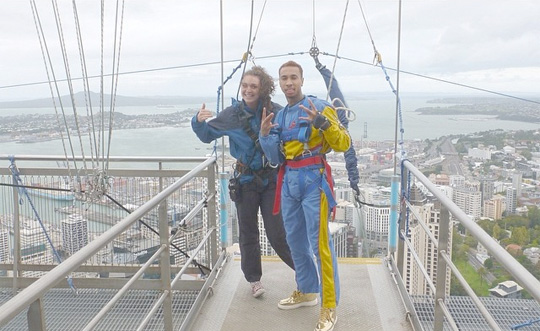 Tyga Jumps Off A Skyscraper In New Zealand