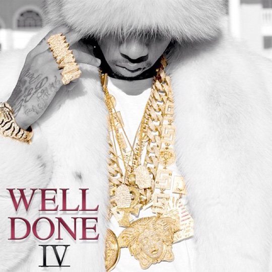 Official Artwork For Tyga Well Done 4 Mixtape