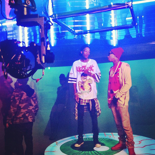 Behind The Scenes Of Tyga, Wiz Khalifa & Mally Mall Molly Video Shoot