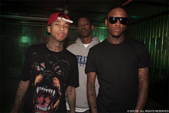 Photos On Set Of Tyga, YG & Kurupt Bitch Betta Have My Money Video Shoot