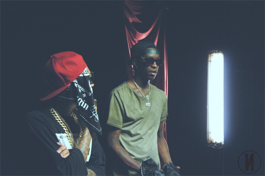 On Set Of Tyga & Young Thug Hookah Video Shoot