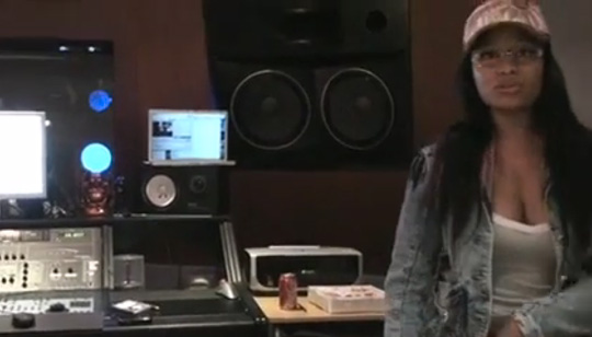 Unreleased Footage Of Bangladesh In The Studio With Nicki Minaj Recording A Verse For Get Em Girls