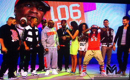 YMCMB Takes Over 106 & Park