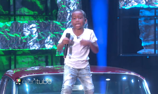 Young Dylan Performs Drake Childs Play & DJ Khaled For Free Live On The Ellen DeGeneres Show