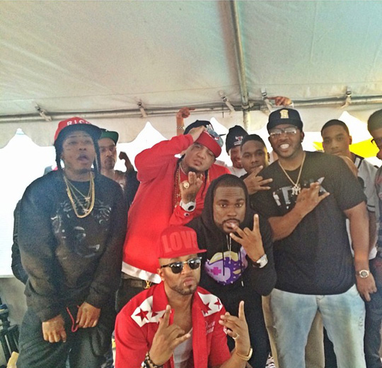 Young Money Artists Attend Nice Kicks & TRUKFIT SXSW Experience Event In Austin