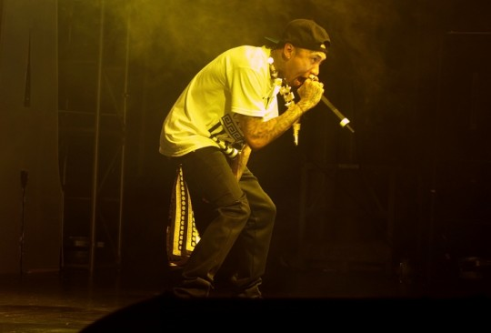 Tyga Peforms In Furth Germany