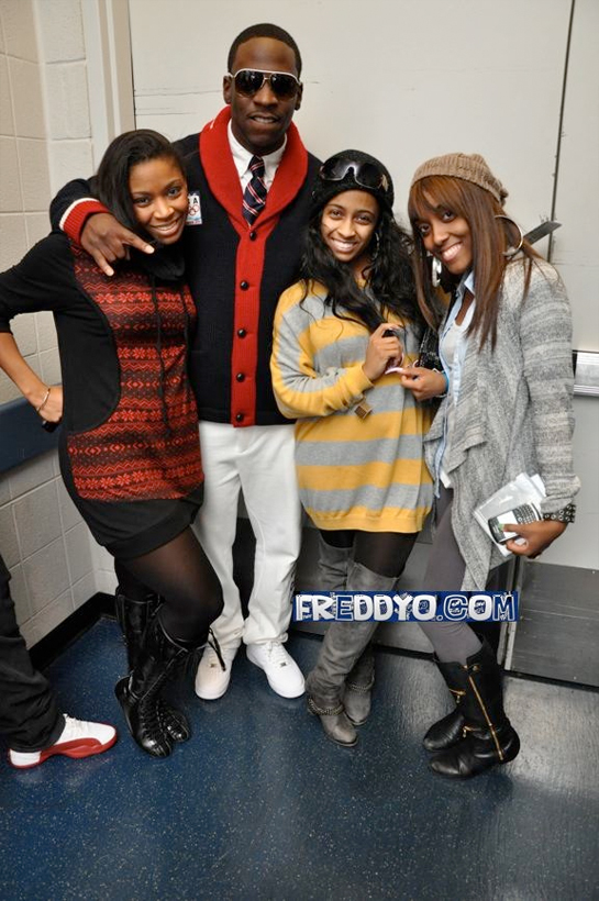 Pictures Of Shanell & Lil Chuckee Backstage In Atlanta