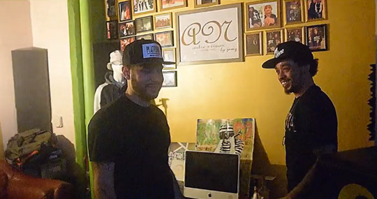 Behind The Scenes Of Cory Gunz, Recc & Jamz Turn Me Up Studio Session