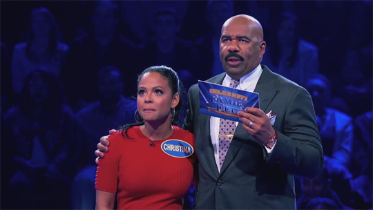 Christina Milian & Her Family Appear On Celebrity Family Feud
