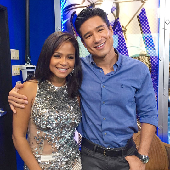 Christina Milian Chats To Mario Lopez About Her Go To Karaoke Song, Celebrity Crushes & More