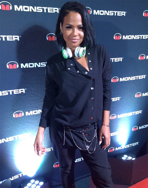 Christina Milian Partners Up With Monster Cable Products