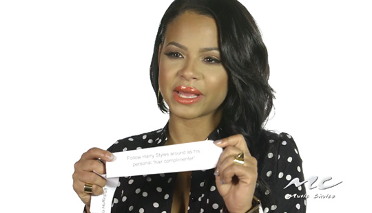 Christina Milian Plays The Would You Rather Game With Music Choice