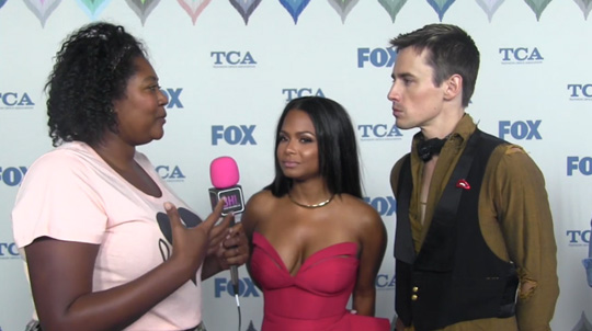 Christina Milian & Reeve Carney Speak On Their Roles In The Rocky Horror Picture Show