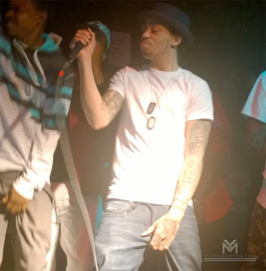 Cory Gunz Backstage & Performing On The 2016 Get Money Stop Hatin Tour In Austin