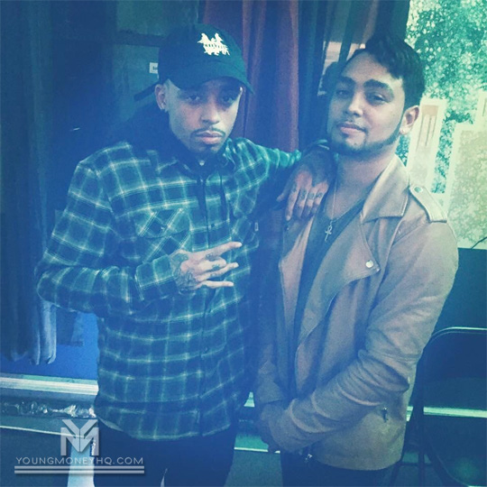 Cory Gunz Hits Up The Studio With Javi In The Bronx
