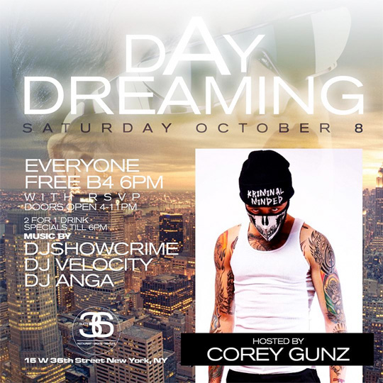Cory Gunz Is Hosting A Birthday Bash For King Blaze At Suite 36 In New York Over Carnival Weekend