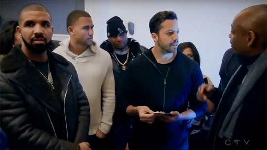 David Blaine Does A Magic Trick For Drake, Steph Curry, Dave Chappelle & Others