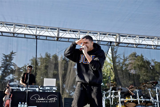 Pictures Of Drake Performing In Santa Barbara With Birdman