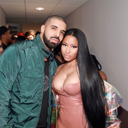 Drake & Nicki Minaj Receive Nominations At The 2018 BET Awards