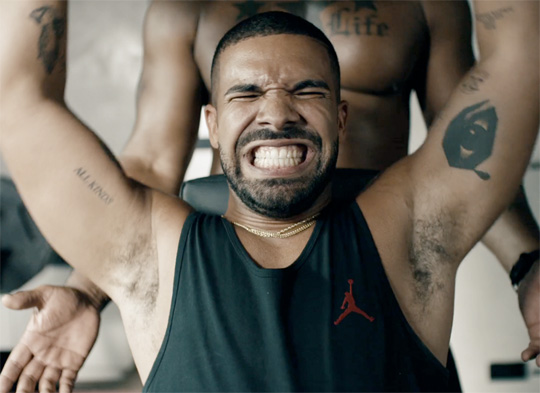 Drake Covers Taylor Swift Bad Blood While Working Out In An Apple Music Commercial