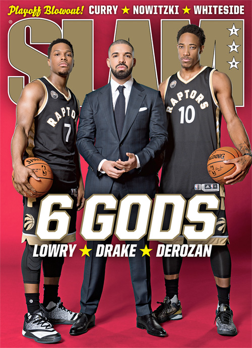 Drake, DeMar DeRozan & Kyle Lowry Cover SLAM Issue 198, Behind The Scenes Of Cover Shoot