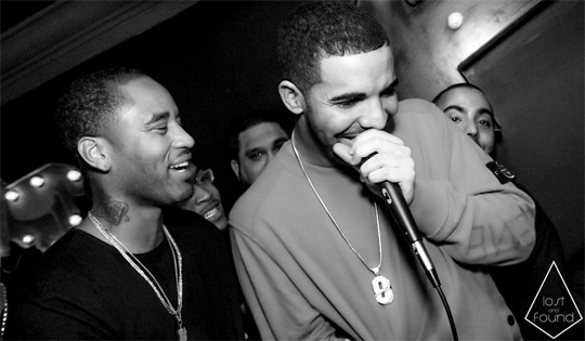 Drake Attends P Reign Dear America Party At Lost & Found In Toronto