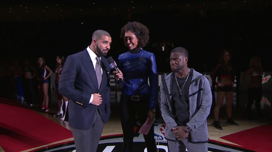 Drake Sends A Little Shot To Meek Mill At The 2016 NBA All-Star Celebrity Game