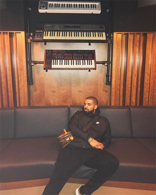 Drake Tattoos Ink On His Own Tattoo Artist Ganga