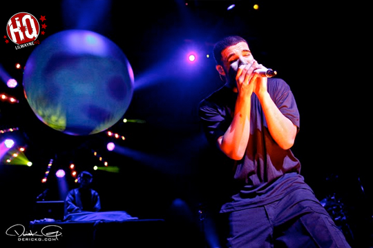 Pictures Of Drake, Tyga & Birdman On The Light Dreams & Nightmares Tour