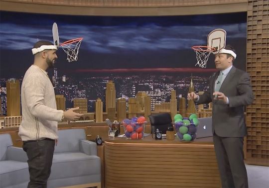 Drake Talks Views Artwork, Family, His Own Whiskey & Plays A Game Of Faceketball With Jimmy Fallon