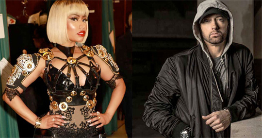 Eminem Says He Wants To Date Nicki Minaj At The Boston Calling Music Festival, Nicki Responds