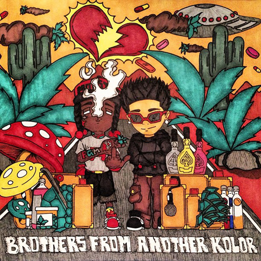 Official Artwork For Flow & Christian Radke Brothers From Another Kolor Mixtape