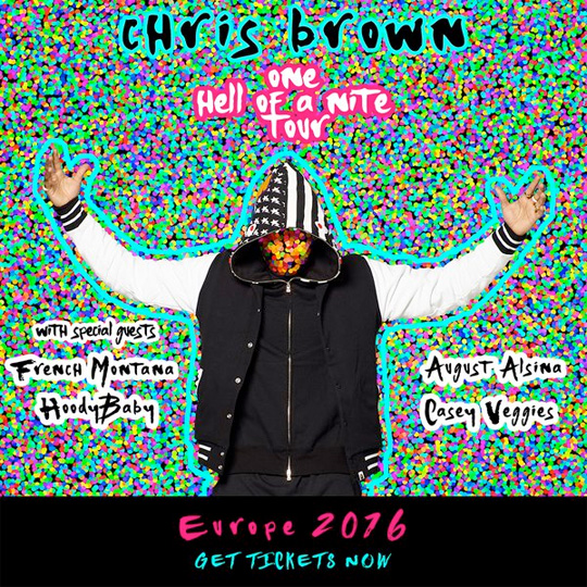 HoodyBaby Will Join Chris Brown On His One Hell Of A Nite 2016 European Tour