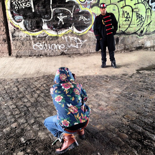 On Set Of Jae Millz Photo Shoot For His Potent Music 2 Project